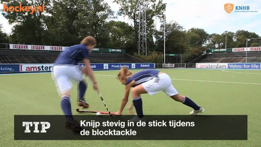De Enkelhandige Blocktackle met de Forehand